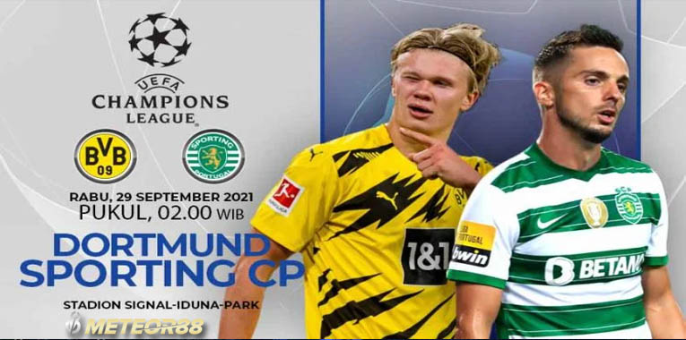 Prediksi Borussia Dortmund Vs Sporting Lisbon 29 September 2021 Liga Champions