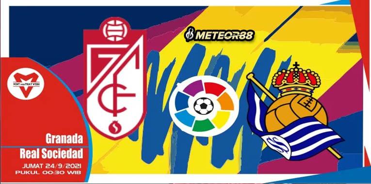 Prediksi Granada Vs Real Sociedad 24 September 2021 La Liga
