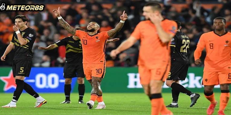 Hasil Belanda Vs Gibraltar 6-0, Berakhir dengan Kemenangan Telak kualifikasi PD