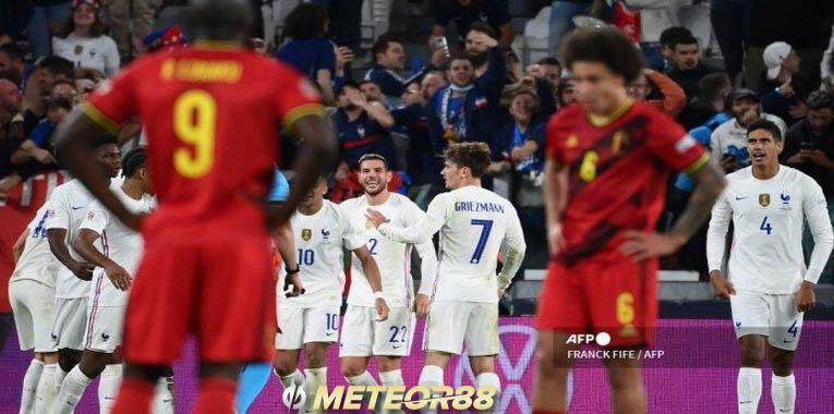 Hasil Belgia Vs Francis, Theo Hernandez Membuat comeback Sensasional 3-2 Nations League