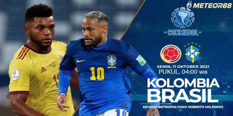 Prediksi Kolombia Vs Brazil 11 Oktober 2021 Kualifikasi Piala Dunia