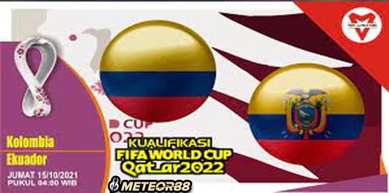 Prediksi Kolombia Vs Ekuador 15 Oktober 2021 Kualifikasi PD Zona Conmebol