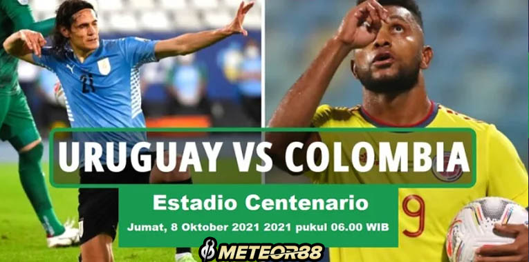 Prediksi Uruguay Vs Kolombia 08 Oktober 2021 Kualifikasi Pala Dunia